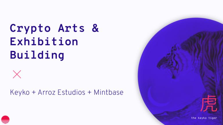 Crypto Arts Workshop 3 ▲ Exhibition Building